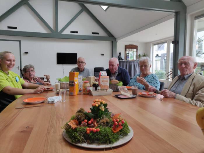 Activiteiten Westersypen samen lunchen