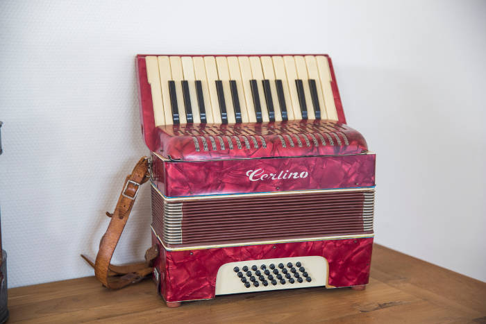 Westersypen accordeon