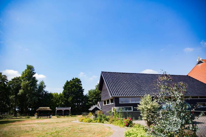 Zorgboerderij Westersypen buiten tuin